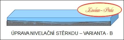 linoleum-praha - úprava podkladu nivelační stěrkou